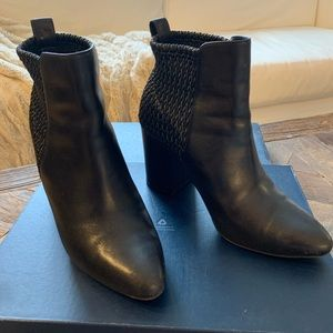 """Cole haan """"Aylin"""" black leather bootie - size 7"""